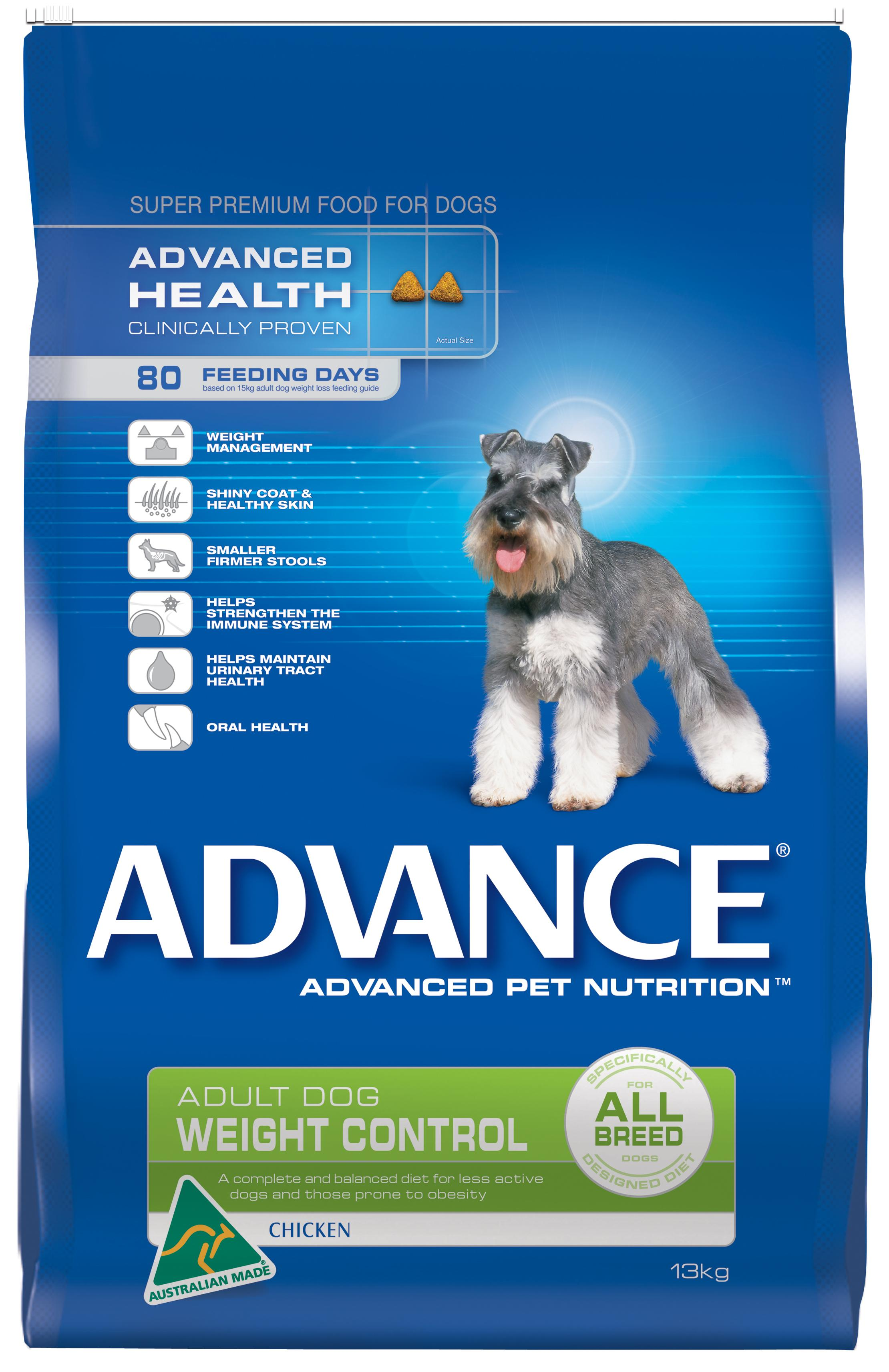 Advance Weight Control All Breed Chicken 15kg Adelaide