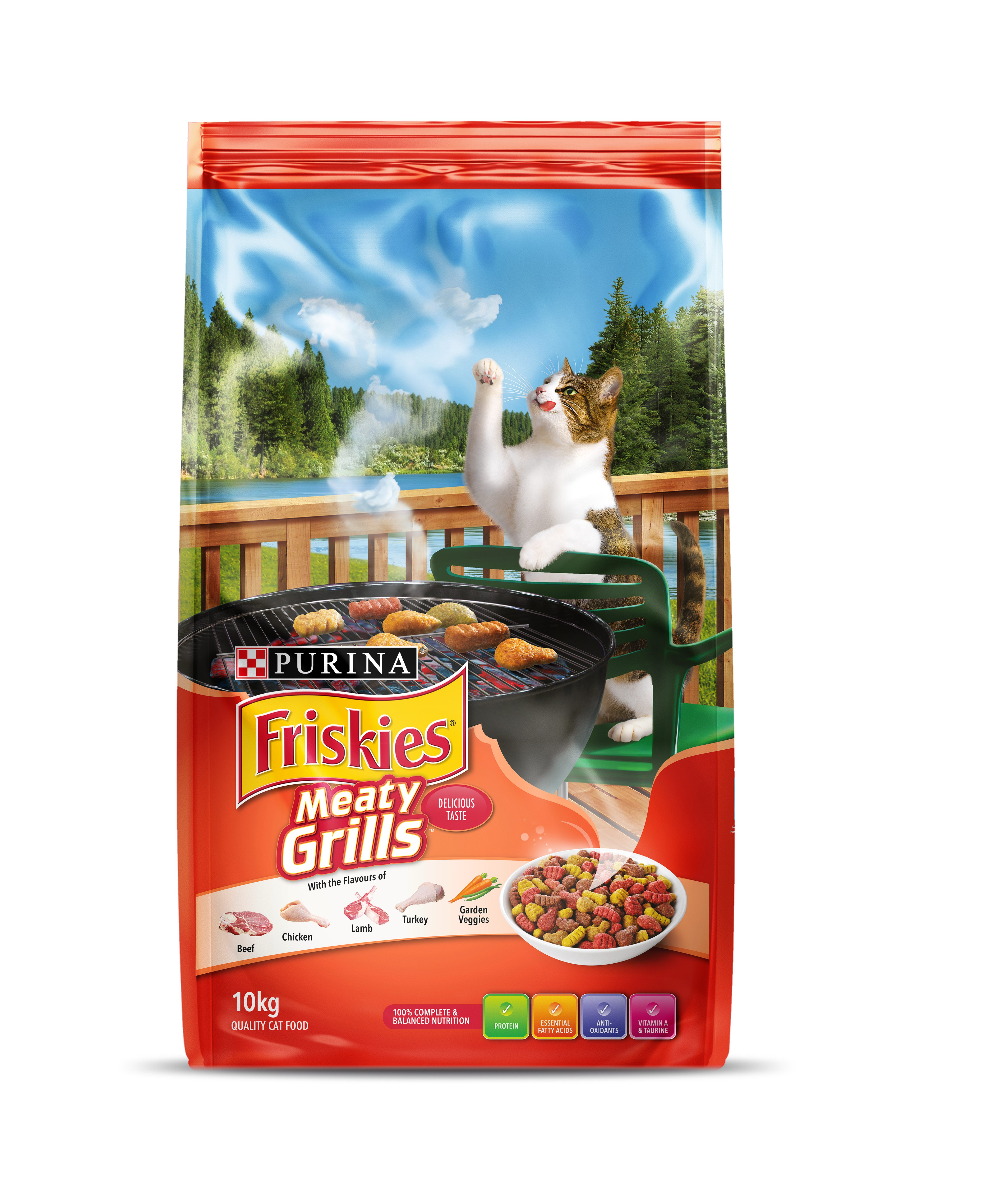 Nestle Purina Friskies Adult Meaty Grills 10kg Adelaide